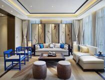 碧水天和——13万打造130平米三居中式风格住宅