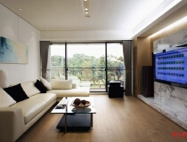 成都ICC159平三居室现代简约风格