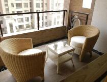 九城湖滨210平三居室现代简约风格