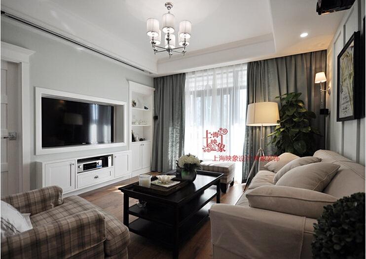 9万打造130平三居室现代风格