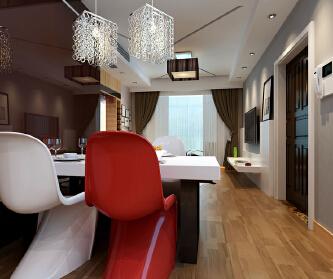3居室现代简约-惠居私人...