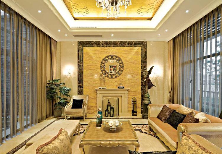 金山谷别墅现代欧式设计案例