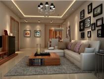 中信府世家124平三居室现代风格