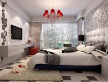 金地国际花园168平三居室现代简约风格