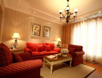金城府165平三居室美式风格