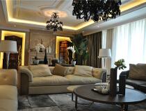 钓鱼台7号院129平三居室欧式古典风格