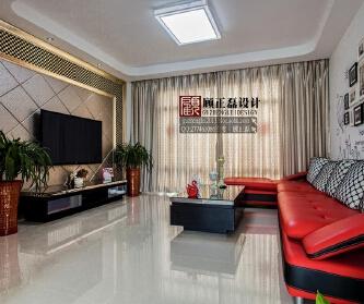 森兰公寓现代风格婚房...