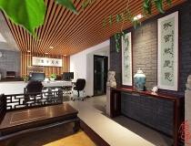万熹营造办公空间——设计公司奇葩房型改造出的中式工业混搭范儿