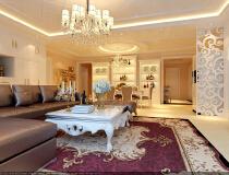 整体家装6系大包丰台南宫景苑190平高贵奢华欧式经典