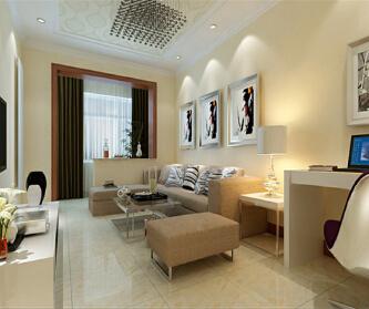 上海小户型2室一厅,现代...