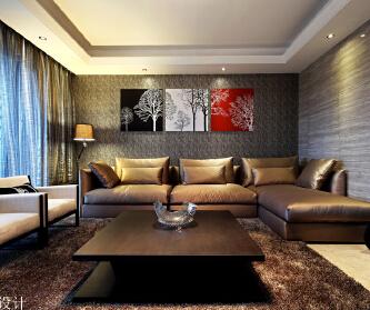 天安高尔夫珑园样板房设计