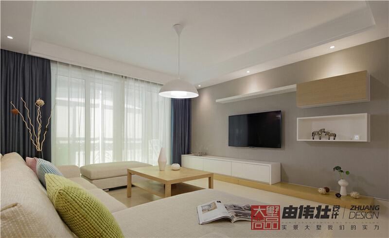 ,客厅,三居,现代,10万,148平,