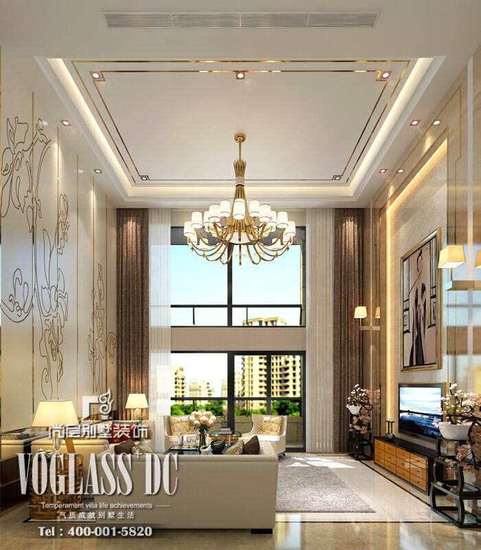 ,300平,公寓,效果图,中式,150万,