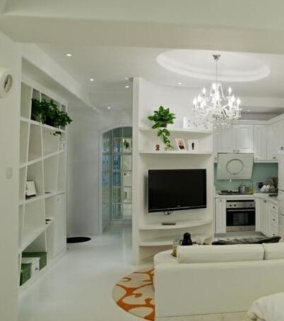 ,客厅,白色,75万,小户型,150平,简约,现代,
