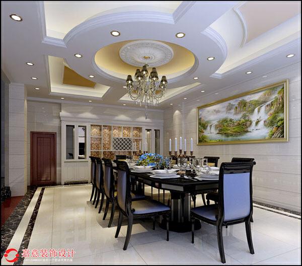 ,餐厅,欧式,效果图,80.0万,别墅,450.0平,