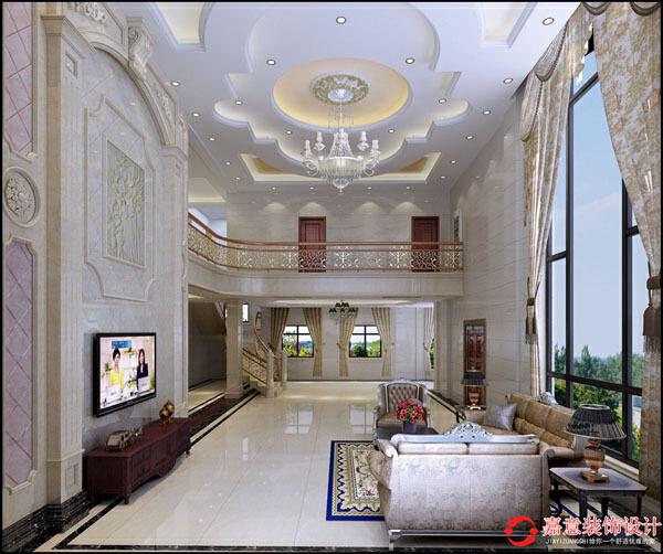 ,效果图,450.0平,客厅,80.0万,欧式,别墅,