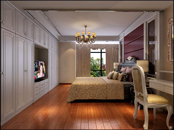 ,现代,一居,3万,卧室,效果图,25平,