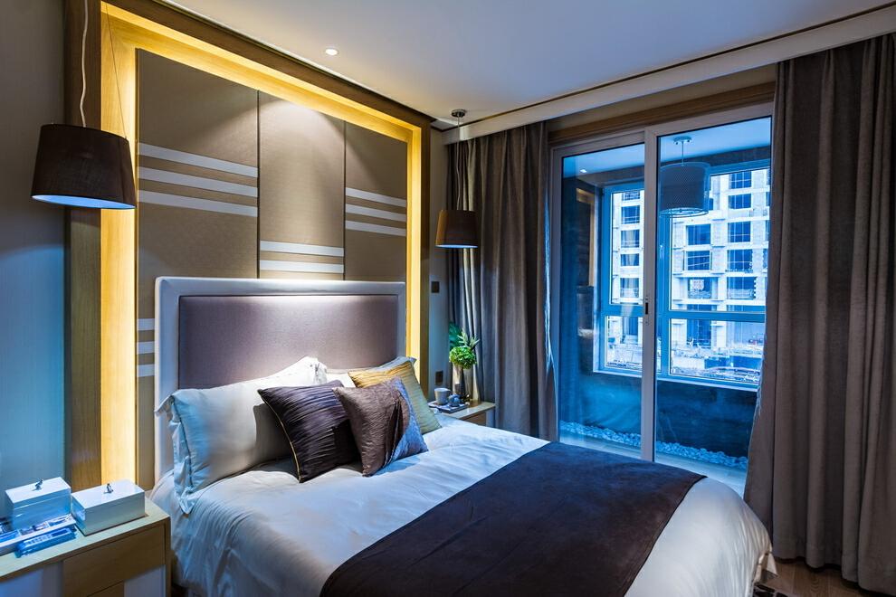 ,现代,卧室,130平,45万,四居,