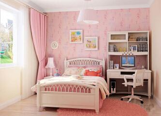 公主房装修设计,小公主睡房装修效果图
