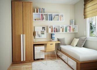 小户型书房如何装修,小户型书房装修效果图