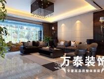 潍坊万泰装饰 金水苑复式经典新中式