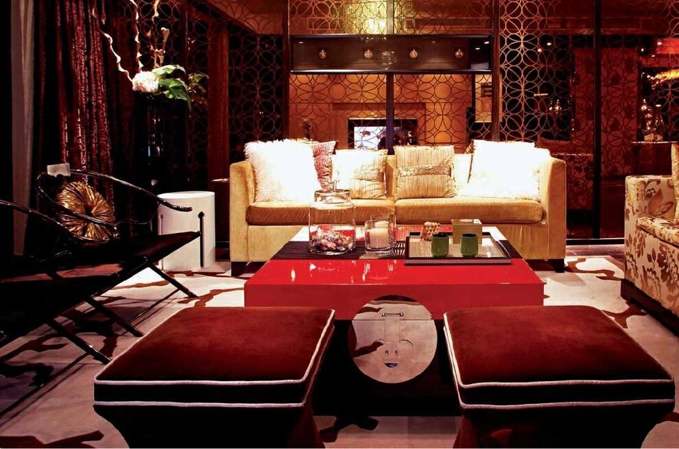 ,现代,客厅,