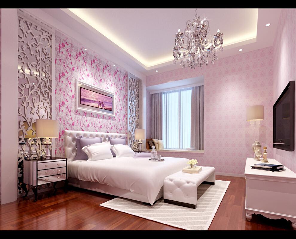 简欧风格大四房,女孩房,157平,28万,欧式,四居,简约,卧室,厨房,宜家,