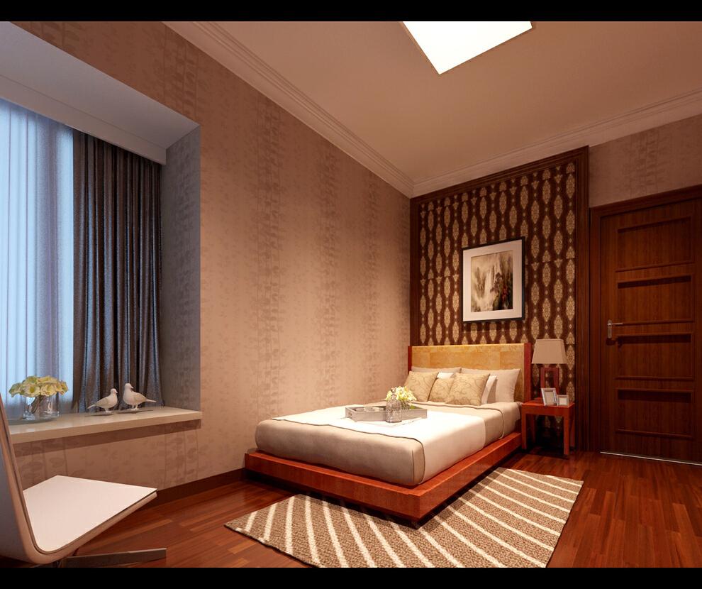 简欧风格大四房,长辈房,157平,28万,欧式,四居,中式,卧室,宜家,