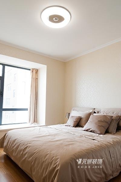 ,白色,简约,卧室,