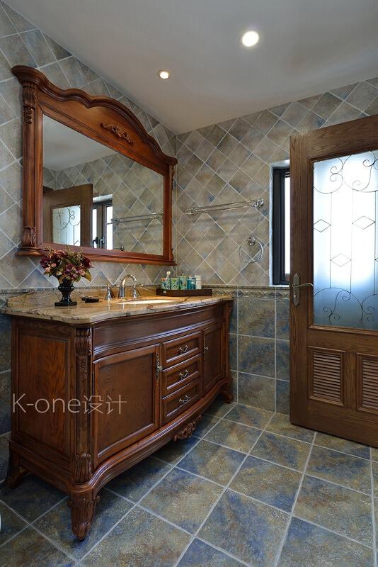 ,卫生间,110万,美式,别墅,340平,