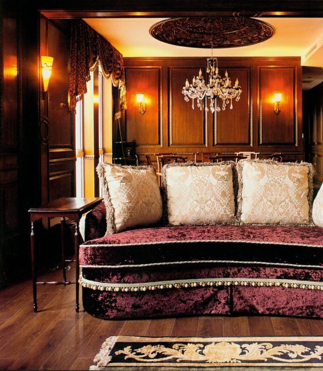 ,409平,客厅,中式,155万,原木色,别墅,