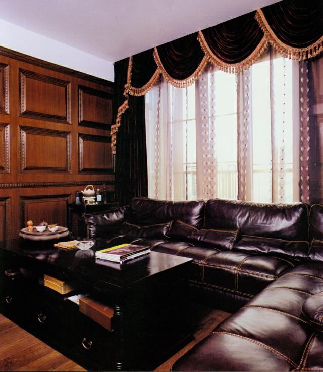 ,原木色,155万,409平,中式,别墅,客厅,