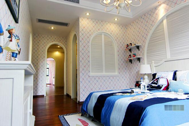 ,白色,213平,46万,一居,现代,卧室,