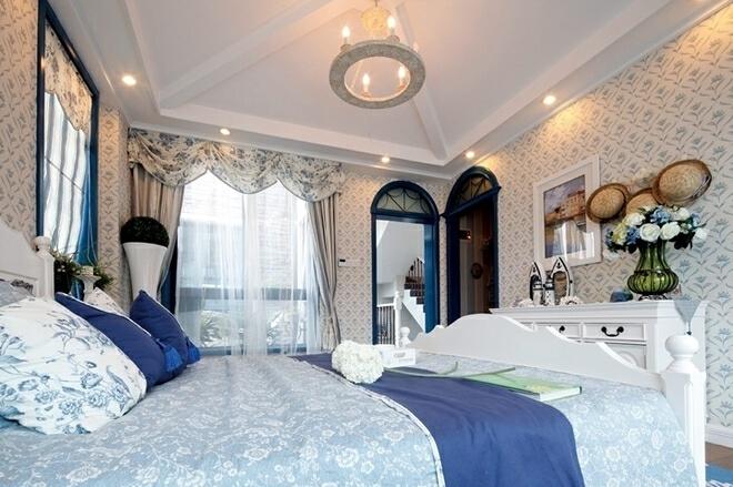 ,别墅,卧室,60万,地中海,300平,
