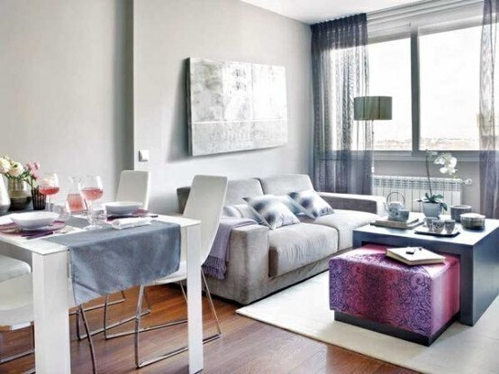 ,一居,客厅,现代,4万,45平,