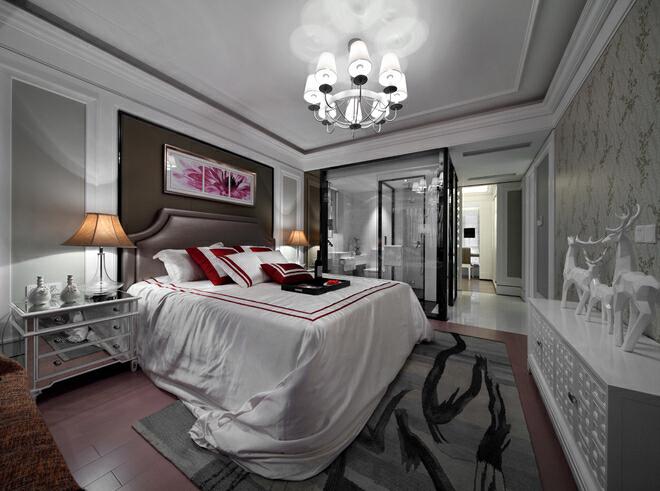 ,卧室,三居,欧式,18万,白色,120平,