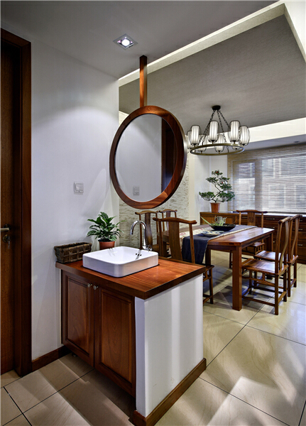 ,280平,餐厅,150万,中式,原木色,别墅,