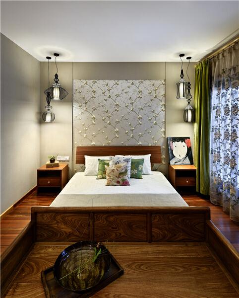 ,150万,原木色,别墅,卧室,280平,中式,