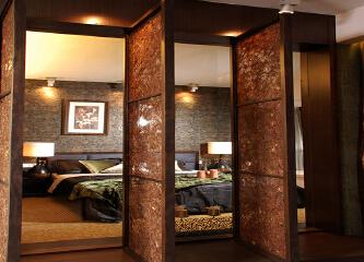 华润中央公园欧美风格面积72两室一厅两卫