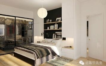 魅力黑白微公寓