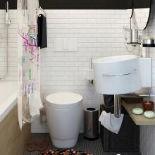 时尚、整洁、精致,它给那些想规划小空间的人提供了极好的灵感。
