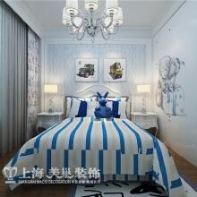 昌建誉峰170平四室两厅简欧风格装修效果图--儿童房