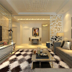 现代奢华风格-二居室设计