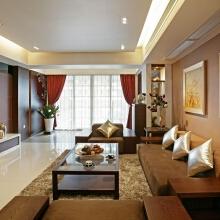 V7西园新中式客厅