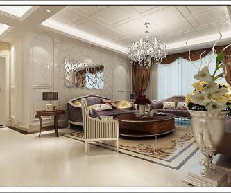 新装饰主义两居装修案例 ...