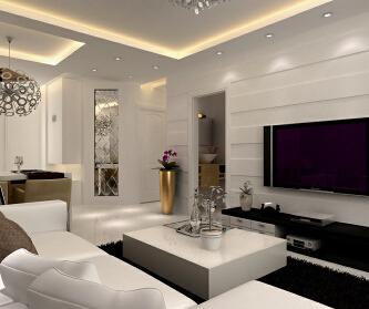 105平二室二厅现代简约...