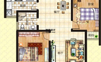 上东城91平方两室两...