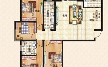 上东城144平方四室...