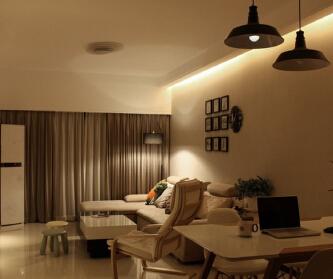法兰原著136平两室两厅...